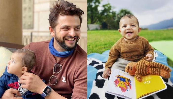 Suresh Raina Shares 'Awwdorable' Photo With His Baby Boy, Rio Raina From His First Overseas Holiday
