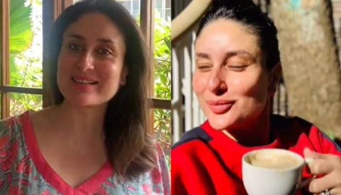 Mom-To-Be Kareena Kapoor Khan Flaunts Pregnancy Glow As She Enjoys The Winter Morning Sun [VIDEO]