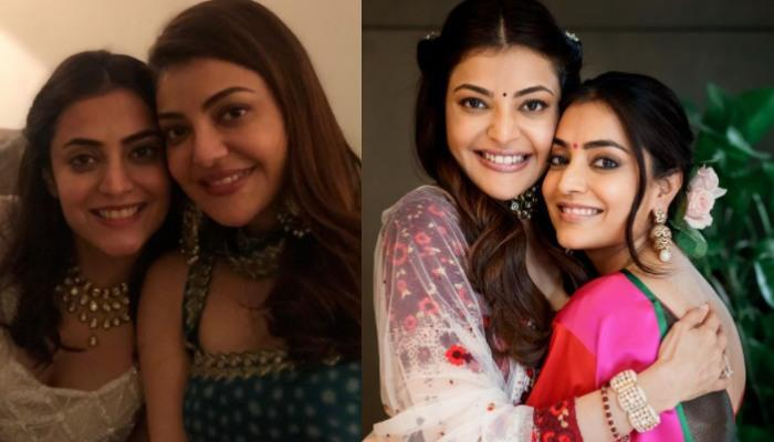 Kajal Aggarwal's Sister, Nisha Aggarwal Misses Her, Shares Real And Reel Pictures Of Her Wedding
