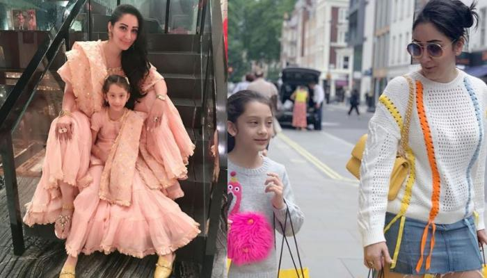 Maanayata Dutt Twins With Her Baby Girl, Iqra In White Nightwear And It's Pure Mother-Daughter Goals