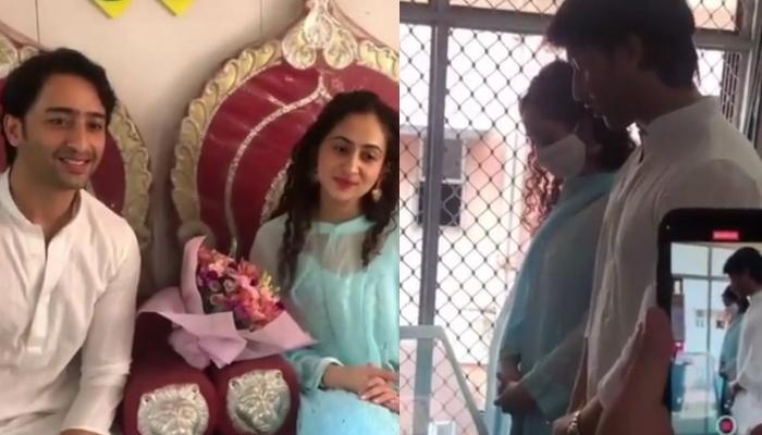 Shaheer Sheikh And Ruchikaa Kapoor's Unseen Candid Pictures And Videos From Their Registered Wedding