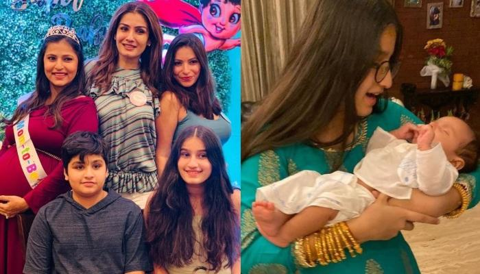 Raveena Tandon Misses Her 'Babies And Babies' Babies', Shares Lovely Candid Moments Of Grandchildren