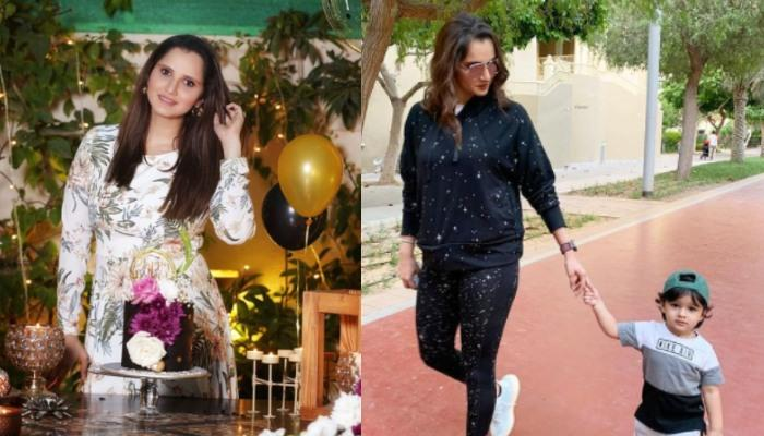 Sania Mirza's Lovely Picture With Her Little Star Izhaan Mirza Malik Proves That Twinning Is Winning