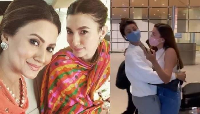 बहन गौहर की शादी के लिए मुंबई पहुंची निगार खान, एयरपोर्ट पर एक्ट्रेस और जैद ने किया ग्रैंड वेलकम