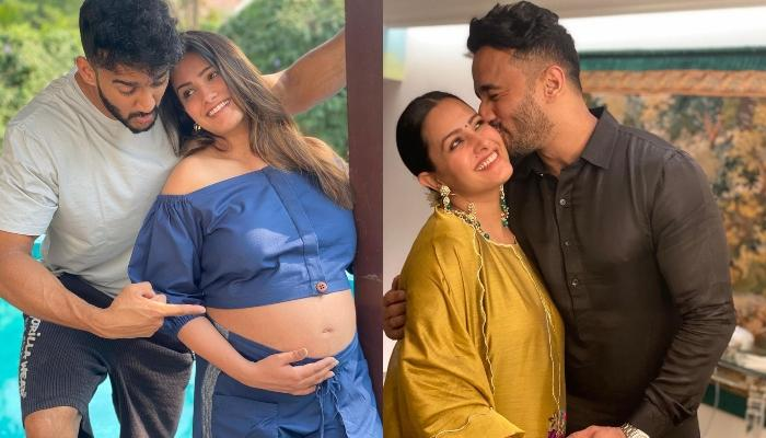 Anita Hassanandani Flaunts Her Baby Bump In A Statement Tassel Dress, Gives Major Pregnancy Goals