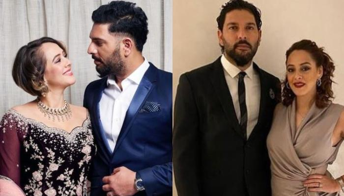Yuvraj Singh And Hazel Keech Celebrate Their Fourth Wedding Anniversary, Twin In Black For The Date