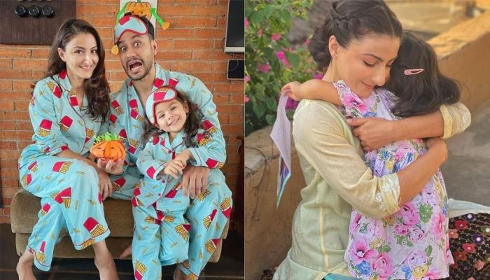 Inaaya Naumi Kemmu Decorates Her Christmas Tree With Daddy, Kunal Kemmu, Draws An Elf Portrait