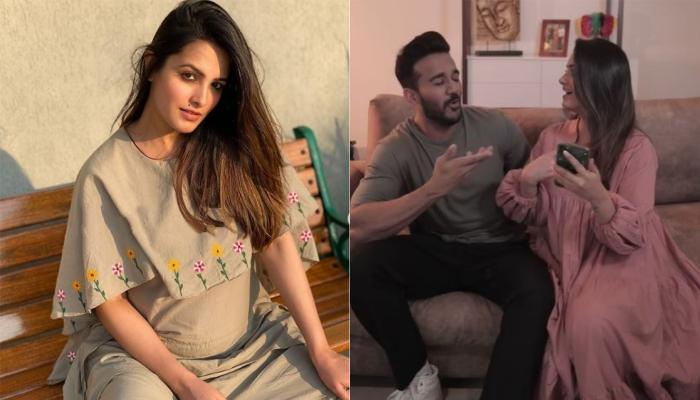 Anita Hassandani Gives Hilarious Lesson To Hubby, Rohit On What It Takes To Go From 'Wife' To 'Mom'