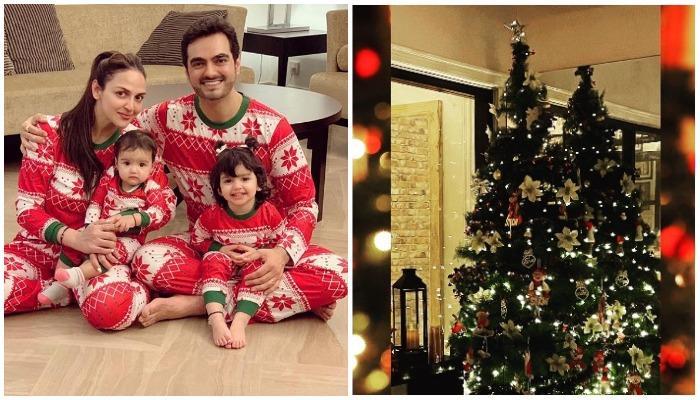 क्रिसमस की तैयारी में जुटी ईशा देओल की फैमिली, सैंटा कैप में बेहद खूबसूरत दिखीं एक्ट्रेस