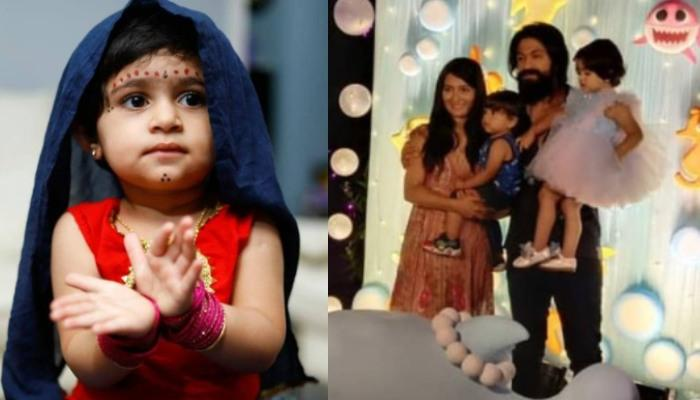 Yash And Radhika Pandit Host A Low-Key Celebration For Daughter Ayra's 2nd Birthday, Photos Go Viral