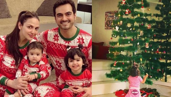 Esha Deol Gives Glimpses Of The Christmas Decoration In Takhtani House And Sets In The Festive Mood