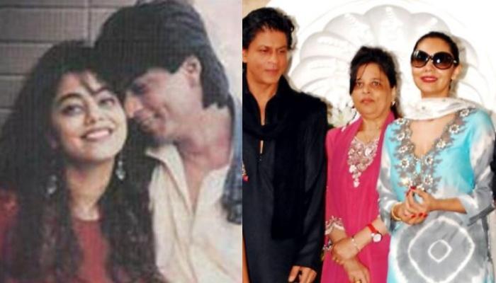 When Newly-Weds Shah Rukh Khan And Gauri Khan Had Posed With His Sister, Mrs Khan Flaunted Chooda