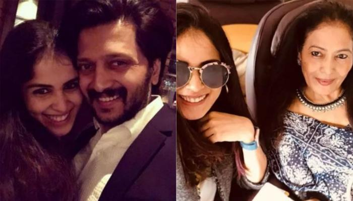 Riteish Deshmukh Pens A Birthday Wish For His Mother-In-Law On Her Birthday With A Beautiful Picture