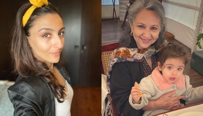 Soha Ali Khan Twins With Daughter, Inaaya For 'Amma', Sharmila Tagore's Virtual Birthday