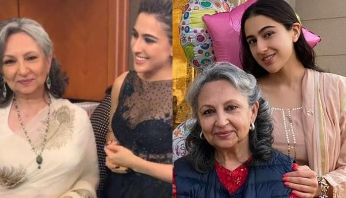 Sara Ali Khan Makes Badi Amman, Sharmila Tagore's 76th Birthday Special, Shares Celebration Pictures