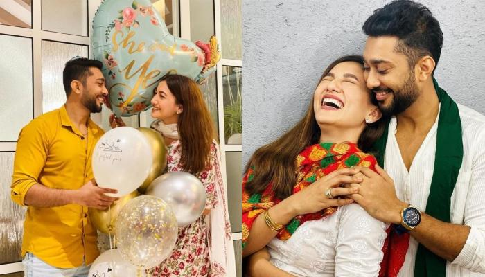 Gauahar Khan Receives A Beautiful Surprise From Her Fiance, Zaid Darbar As He Misses Her Dearly