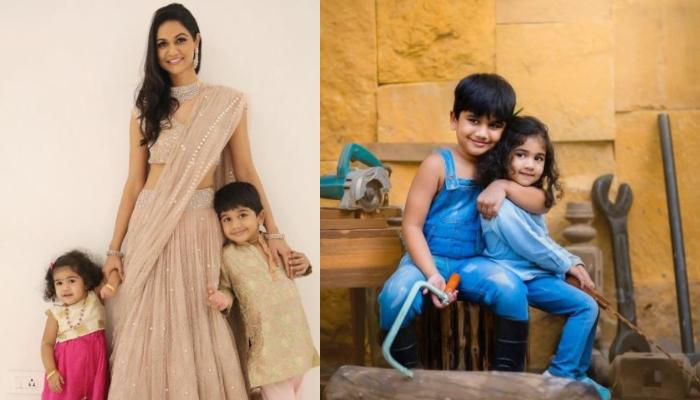 Allu Arjun's Wife, Sneha Reddy Shares Their Children, Arha And Ayaan's 'Twinning In White' Pictures