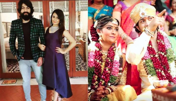 Yash And Radhika Pandit Complete Four Years Of Marital Bliss, The Latter Shares Celebration Pictures