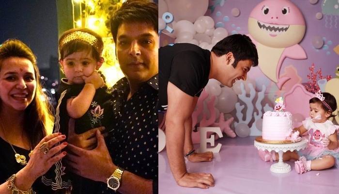 Kapil Sharma Celebrates His 'Laado', Anayra Sharma's First Birthday, Twins With Wife, Ginni Chatrath