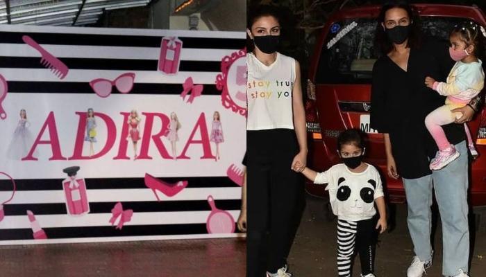 Rani Mukerji Hosts Barbie-Themed 5th Birthday Bash For Adira Chopra, Inaaya, Mehr, Yash-Roohi Attend