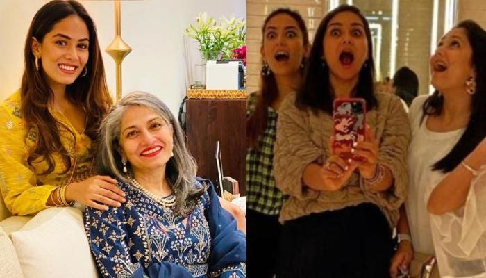 Mira Rajput Kapoor's Unseen Candid Picture With Mom And Sisters From Her Wedding Is A Precious One