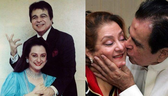 When Saira Banu Kissed Dilip Kumar And Danced For Him On His Birthday, Twinning In Black [VIDEO]