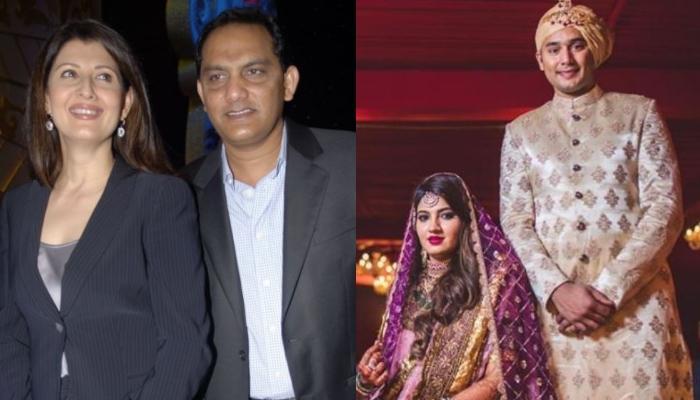 Mohammad Azharuddin's Ex-Wife, Sangeeta Bijlani Wishes His Son Asad And Wife Anam On 1st Anniversary