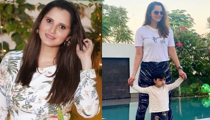 Sania Mirza's Son, Izhaan Mirza Malik Helps His Mommy In Cleaning The House, Picture Inside