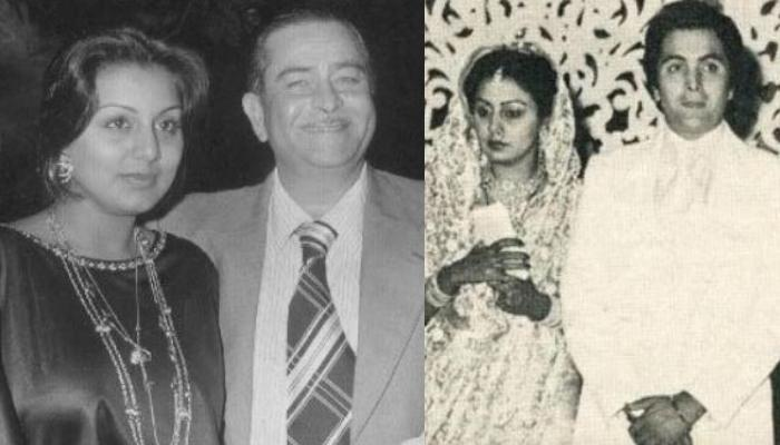 Neetu Kapoor's Unseen Picture With Father-In-Law Raj Kapoor From Wedding Reception With Rishi Kapoor