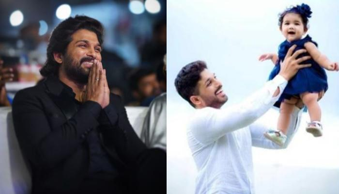 South Superstar, Allu Arjun Calls His Daughter, Arha 'Ninja', Shares A Monochrome Photo From Runway