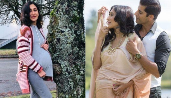 Pregger, Teejay Sidhu Expects A Baby Anytime Now, Daddy, Karanvir Bohra Paints The Crib [Pictures]