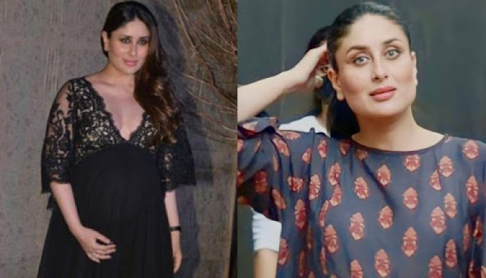 Kareena Kapoor Khan Slays In Black As She Flaunts Her Baby Bump In An Ankle-Length Dress