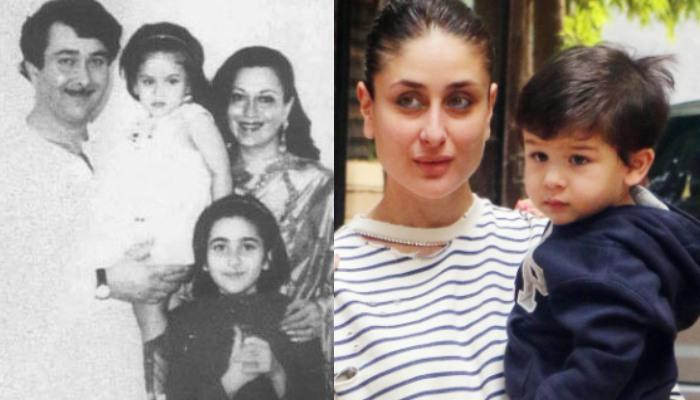 Kareena Kapoor Looks Exactly Like Taimur In This Unseen Picture With Her Parents, Randhir And Babita