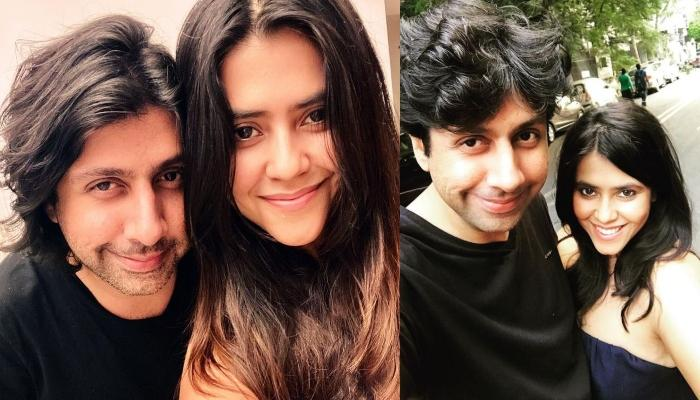 Ekta Kapoor's Loved-Up Selfie With Friend Tanveer And 'Will Tell Soon' Caption Spark Wedding Rumours