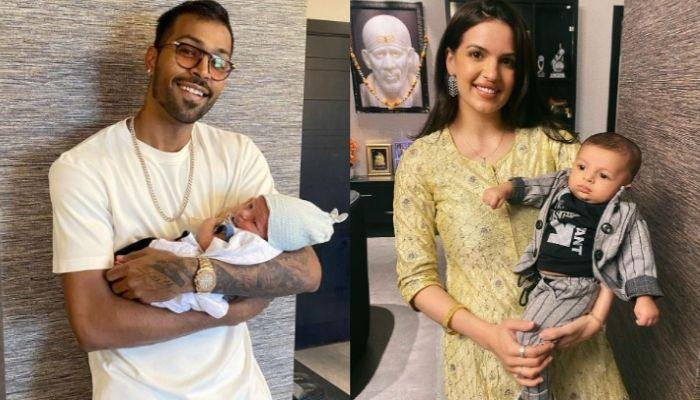 Hardik Pandya And Natasa Stankovic Get Their Son, Agastya's Hands And Feet Impressions Framed