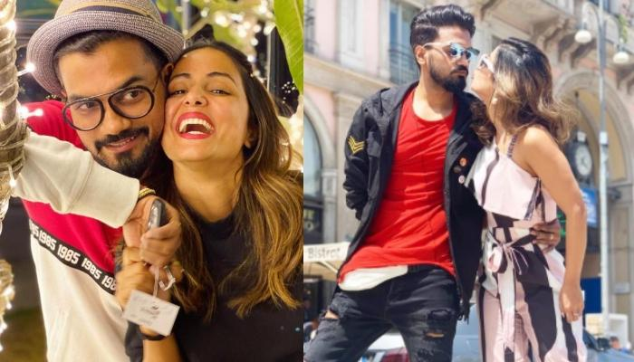 Hina Khan And Rocky Jaiswal's Romantic Pictures From The Shoot Of 'Wishlist' Are Pure Couple Goals