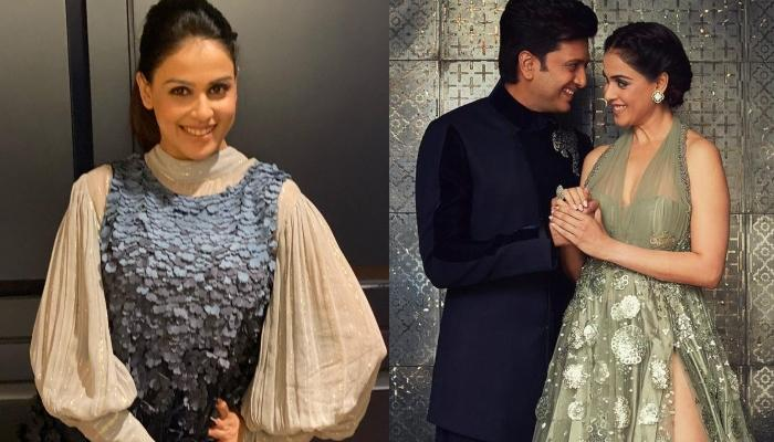 Genelia Deshmukh Reveals That Hubby, Riteish Deshmukh Knows The Secret Of Keeping The Wife Happy