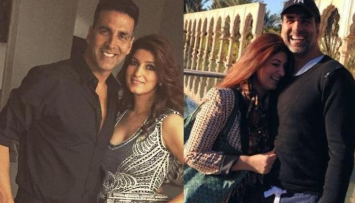 Akshay Kumar Mimics His Wife, Twinkle Khanna's Pose, Her Witty Comeback In The Caption Is Hilarious