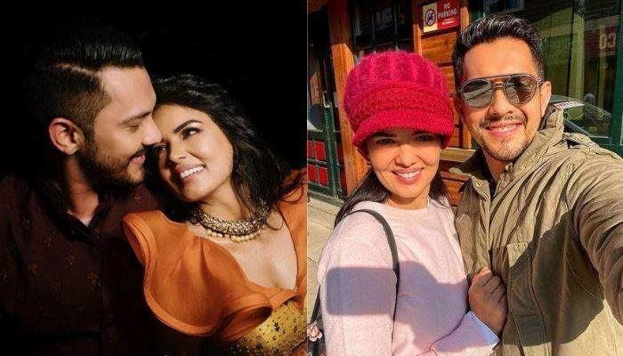 Aditya Narayan And Wife, Shweta Agarwal's Sun-Kissed Selfie From Kashmir Is Everything Serene