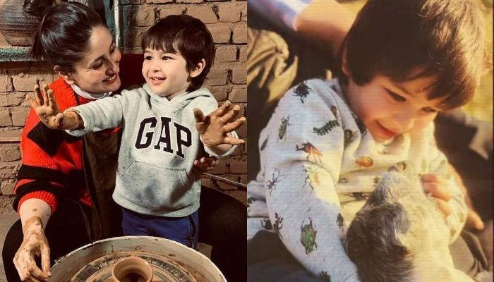 Kareena Kapoor Khan Shares Unseen Pictures Of Her Son, Taimur Ali Khan On His Fourth Birthday