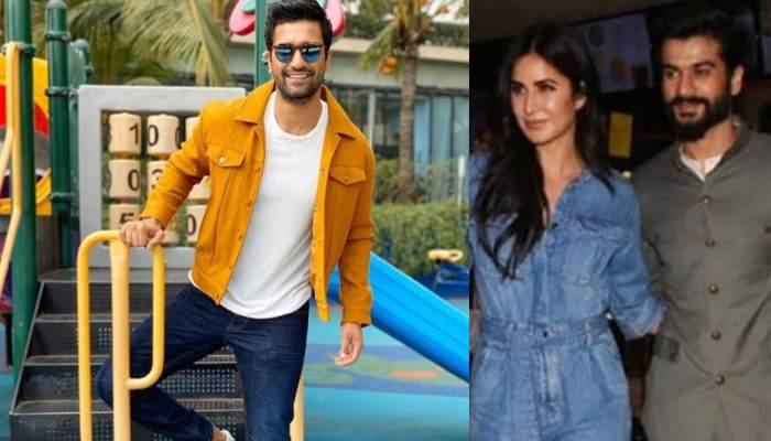 Katrina Kaif Attends The Screening Of A Web Series Of Rumoured Boyfriend, Vicky Kaushal's Brother