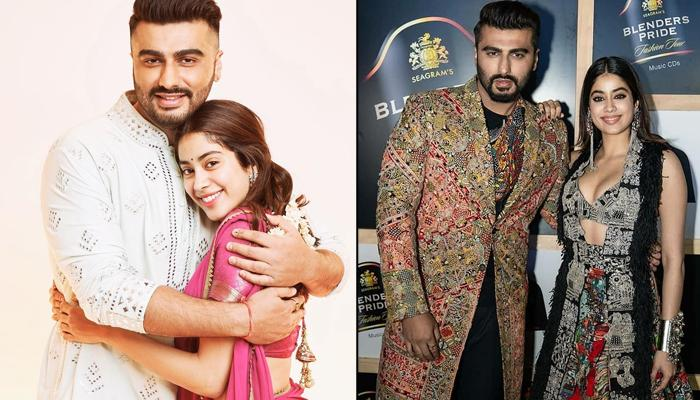 Arjun Kapoor And Janhvi Kapoor Walk The Ramp Together For The First Time And Are A Sight To Behold