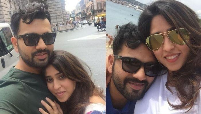 Rohit Sharma Shared A Series Of Throwback Pictures With Her Wife, Ritika To Wish Her On Birthday