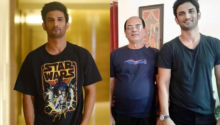 Late Actor, Sushant Singh Rajput's Dad, KK Singh Is In Hospital, His Photo With Daughters Go Viral