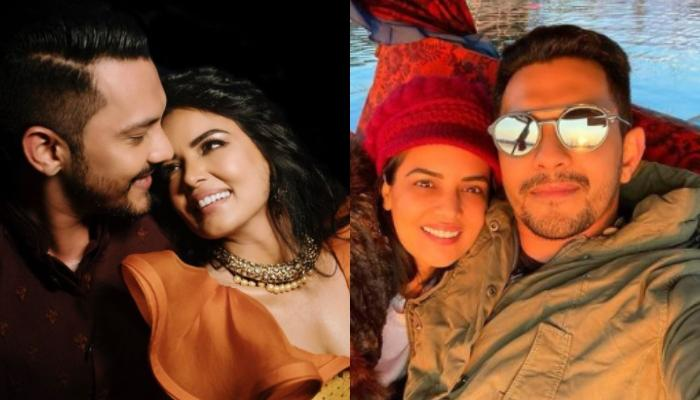 Aditya Narayan Shares A Romantic Picture Enjoying Snow Bike Ride With Wife Shweta On Their Honeymoon