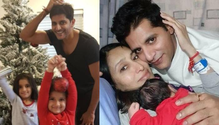 Karanvir Bohra Shares The First Picture With His Newborn, Reveals Which Is Her Best Sleeping Place