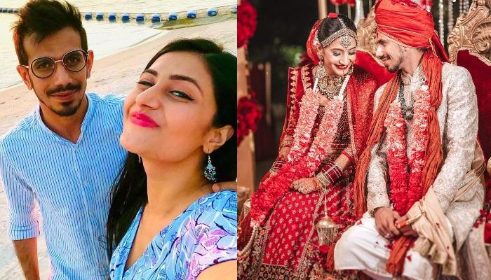 Yuzvendra Chahal Shares Mesmerising Pictures With His 'Missus', Dhanashree From Engagement Ceremony