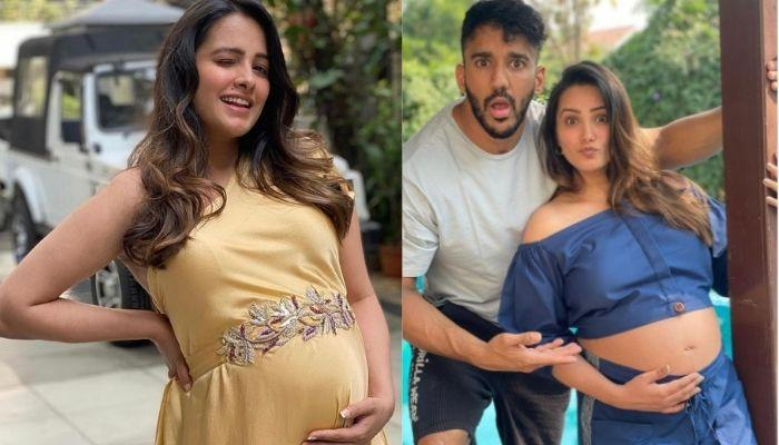 Pregger, Anita Hassanandani Repeats Her 'Babymoon' Outfit With A Twist, Flaunts Her Baby Bump