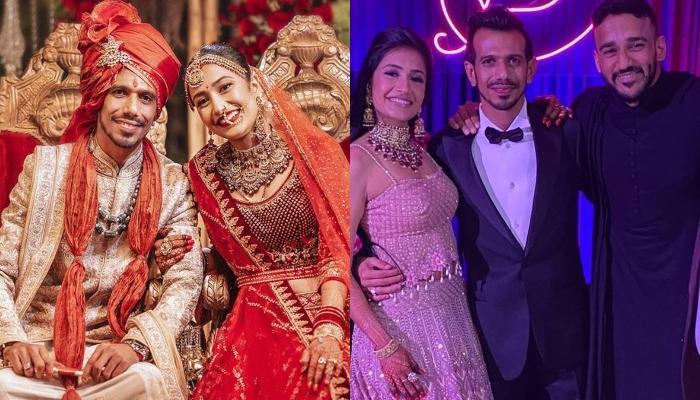 Inside Pictures Of Yuzvendra Chahal And Dhanashree Verma's Haldi, Wedding And Reception Ceremonies