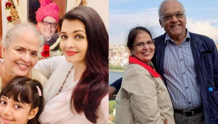 Aishwarya Rai Posts A Picture With Brindya Rai And Aaradhya Bachchan On Her Parents' Anniversary